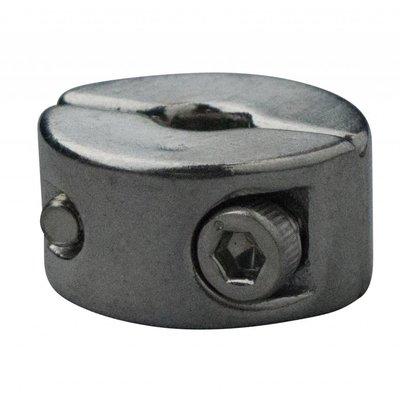 Edelstahl Drahtseiltoppen 4mm M3 twin