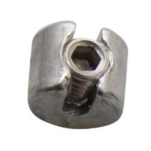 Rvs Staalkabelstop 3mm - M8