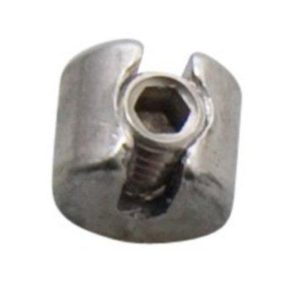 Edelstahl Drahtseilklemme Klemmring 3mm - M8
