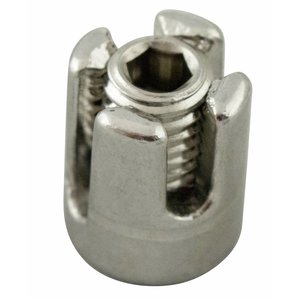stainless screwclamp 4mm