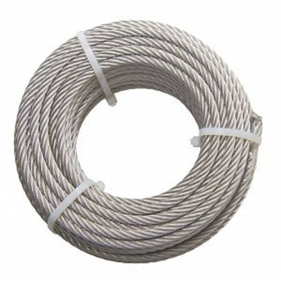 Stainless Wire Rope 8 mm 20 meter inox