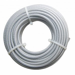 Wire Rope 5/6 mm PVC 20 meter