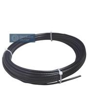 Fitness Staalkabel 5,5mm 100 meter zwart