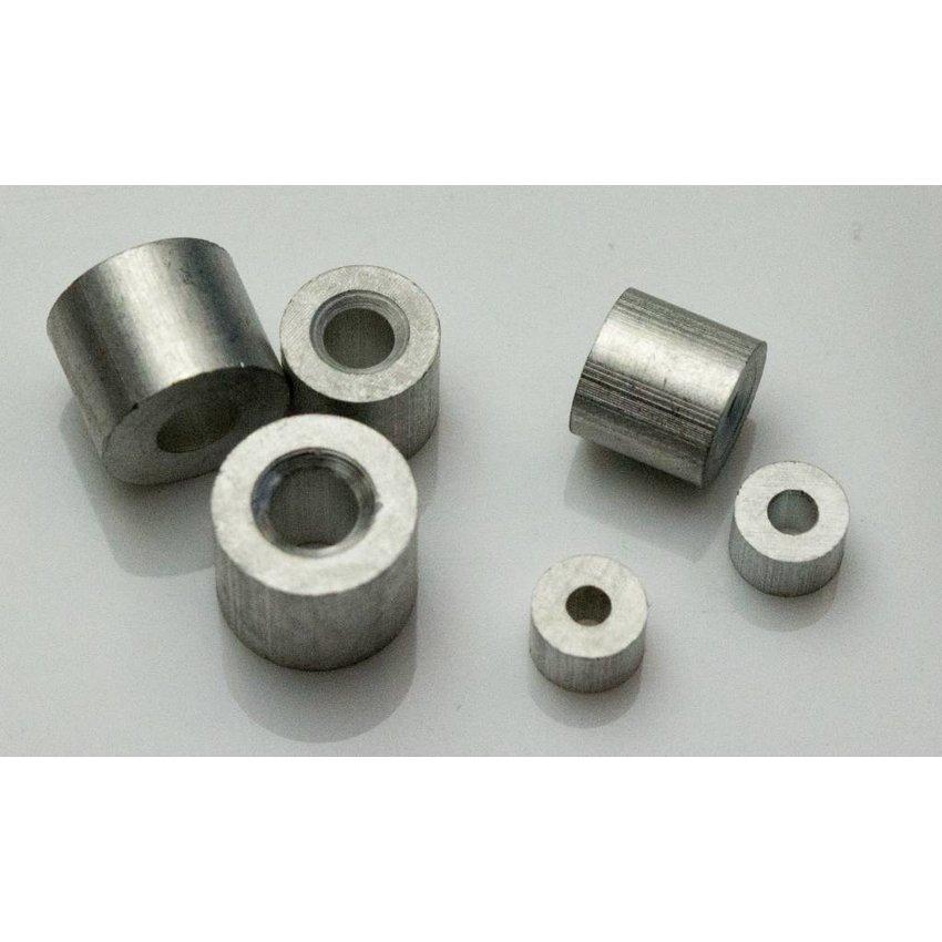 Staalkabel Eindstop 3mm aluminium