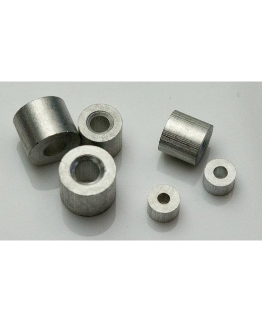 Staalkabel Eindstop 2mm aluminium