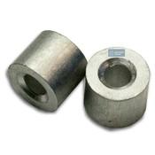 Staalkabel Eindstop 4mm aluminium