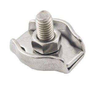 Stahldrahtklem Edelstahl 10 mm