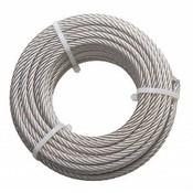 Stainless Wire Rope 10 mm 20 meter inox