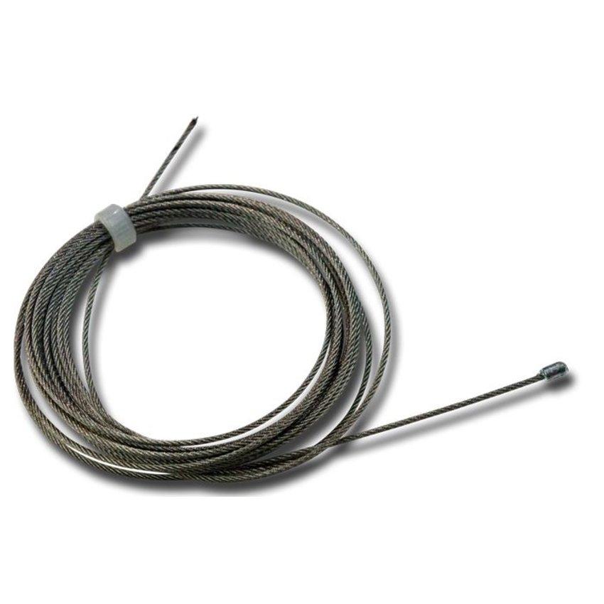 Staalkabel met eindstop 1.2mm