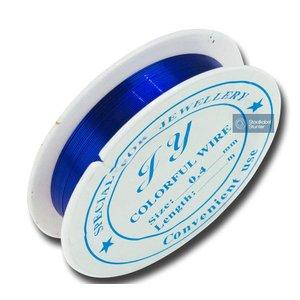 JIJ Hobby Ijzerddraad Blauw 0,4mm