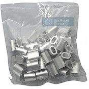 Wire rope clips 6mm Discount pack 50 pieces
