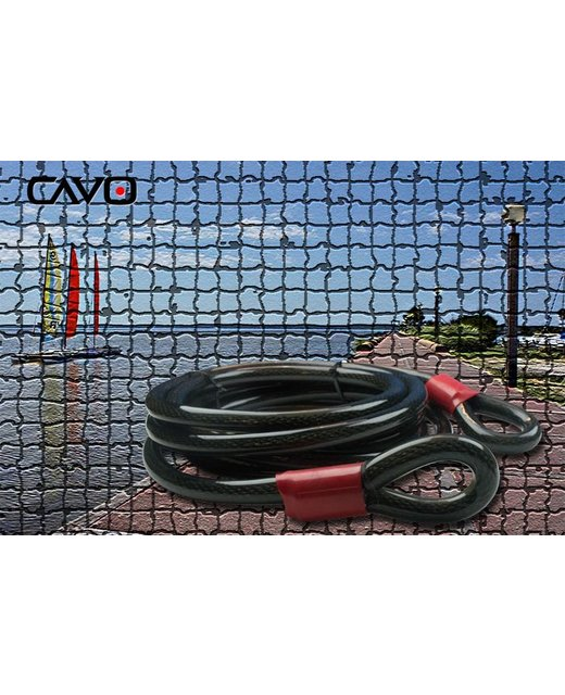 Kabelslot 10 meter veiligheidsslot XL