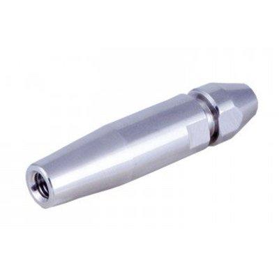 Schnellpressterminal Mit Innengewinde Linksgängig voor 6 mm