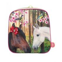 Kunstboer Kinderrugzak Paarden