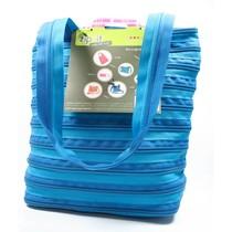 Zip-it handtas blauw
