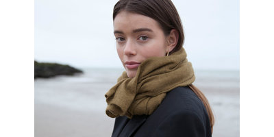 KNITTED - Golden Olive