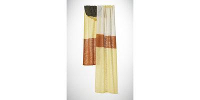 KNITTED - Block Stripe Soft Yellow