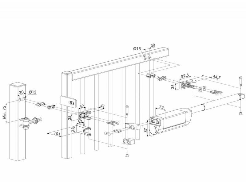 Hekwerkdirect Hydraulische Polyvalente Poortsluiter Locinox Samson-2