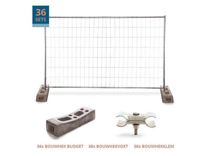 Budget Bouwhek pakket