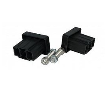 Hoekverbinding blind 50x30 (Set)