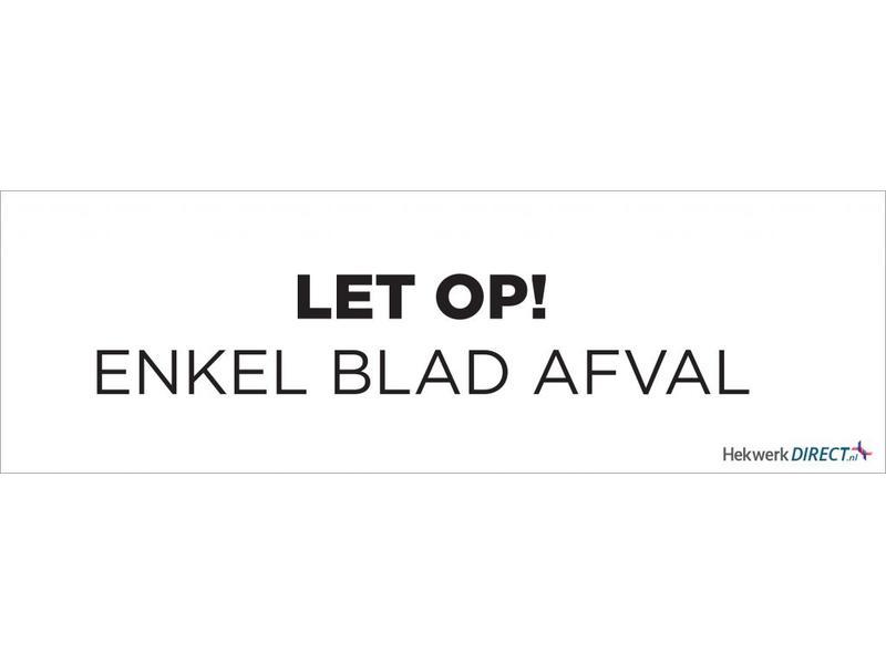 ABC Bladkorf Standaard