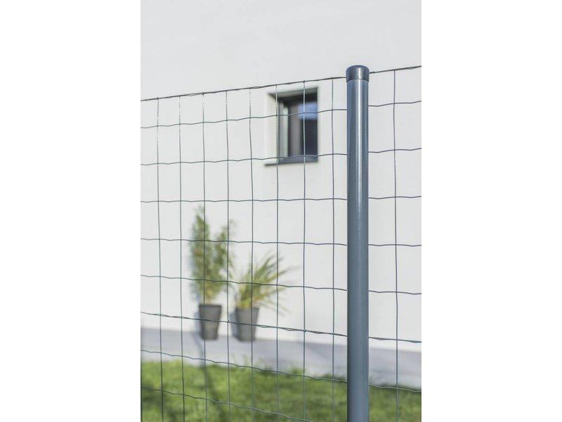 Hekwerkdirect Tuingaas Antraciet 60 -180 hoog op rol (25 meter)