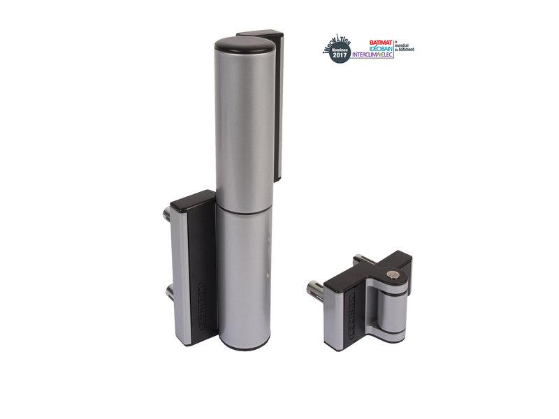 ABC Compact scharnier en poortsluiter in één