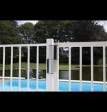 Hekwerkdirect Compact scharnier en poortsluiter in één | Tiger