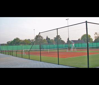 Harmonica tennis gaas 3 meter Hoog op rol 12.5 meter