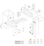Locinox 4-Dimensionaal Regelbaar 180° Scharnier