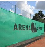 Tennisbaan windschermen