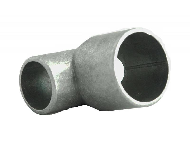 Hekwerkdirect Aluminium T-Kop Ø 42/60/42