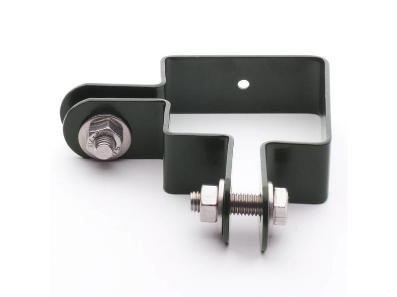 Hekwerkdirect Hoekbeugelset staander 60 x 60 mm Gecoat