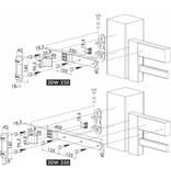 Locinox 3DW | 3-D regelbaar