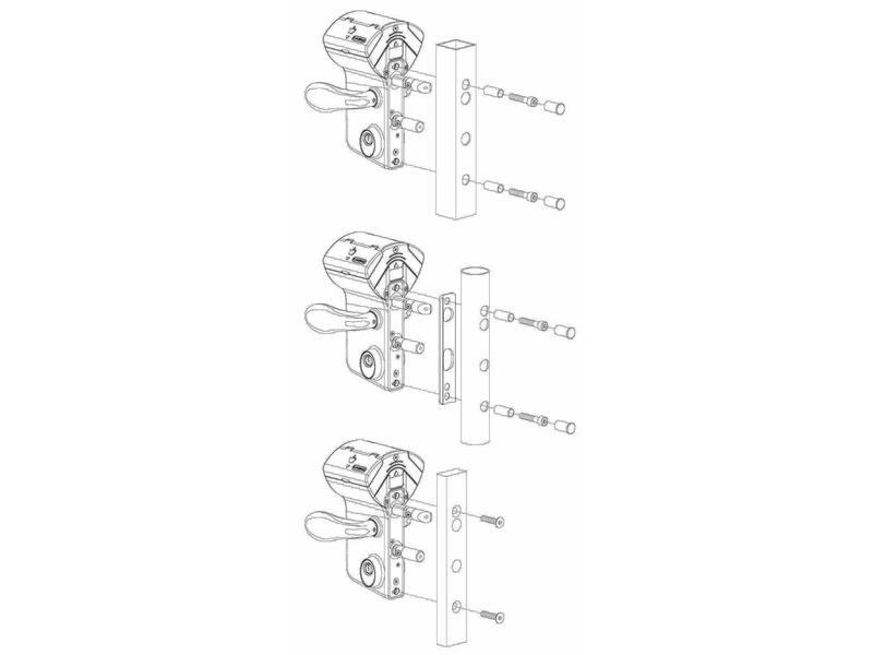 Locinox LMKQ V2 | Mechanisch codeslot - plat profiel