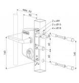 Locinox LAKQ U2 | Industrieel slot
