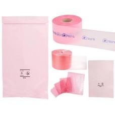 Antistatik Beutel und Folien rosa-transparent