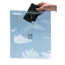 Metallisierte transparente Abschirmbeutel als Druckverschlußbeutel