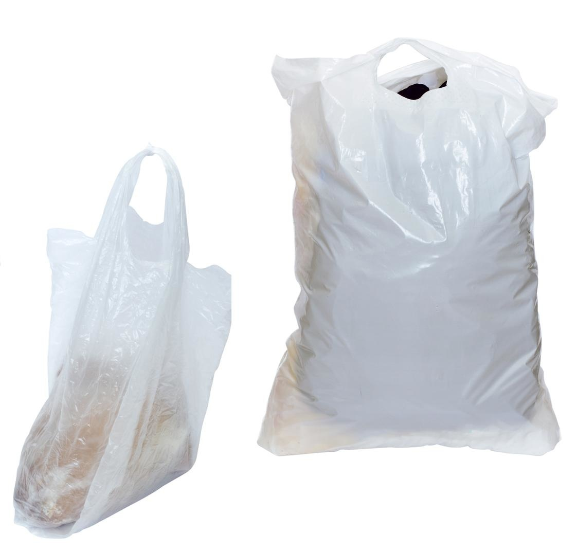 Plastik-Tragetaschen