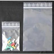 Druckverschlußbeutel, 70 x 100 mm, 90 my (EXTRA STARK), transparent, unbedruckt (1 VE = 1.000 St.)