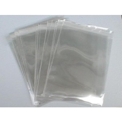 PP-Adhäsionsverschlußbeutel, Format: 165 x 220 + 40 mm (B x H + Klappe), DIN A5, 50 my Stärke, hochtransparent, hochglänzend, unbedruckt, ***, AUSVERKAUF