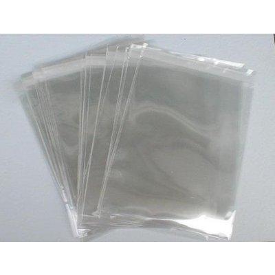 PP-Adhäsionsverschlußbeutel, Format: 225 x 310 + 50 mm (B x H + Klappe), DIN A4, 50 my Stärke, hochtransparent, hochglänzend, unbedruckt, ***