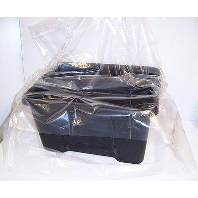 LDPE-Flachbeutel, transparent, Format: 600 x 900 mm (B x H), 100 my Stärke, unbedruckt