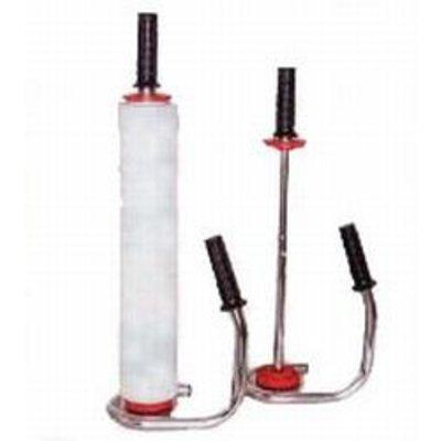Abroller für Hand-Stretchfolie 500 mm, verchromt, für z. B. unsere Stretchfolie ST170 bzw. ST200