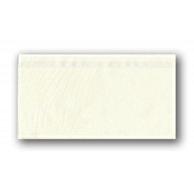 Selbstklebende Dokumententaschen DIN Lang, Format: ca. 135 x 240 mm (B x H), unbedruckt