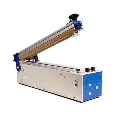 Folienschweißgerät TS 401 H twin mit 420 mm Schweißnahtlänge und 2 Schweißnähte (Doppelnaht), 2 x 3 mm Schweißnahtbreite, mit Haltemagnet