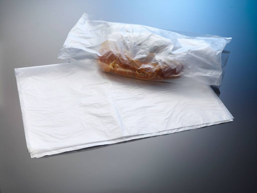 Flachbeutel aus HDPE milchig-transparent
