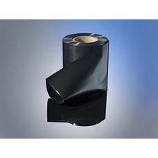 Schlauchfolie schwarz, 200 mm Breite, 100 my Stärke, 250 lfm. je Rolle (= 1 VE)