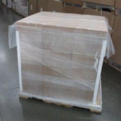 Palettenabdeckblätter, 1.200 x 1.600 mm, 25 my Stärke, HDPE-Folie, 250 St. per Rolle (= 1 VE), transparent