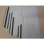 COEX - Adhäsionsverschlußbeutel, 225 x 310 + 40 mm, DIN A4, 60 my (1 VE = 1.000 St.) - Ausverkauf
